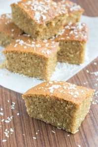 Toto. Traditional Jamaican Coconut Cake.